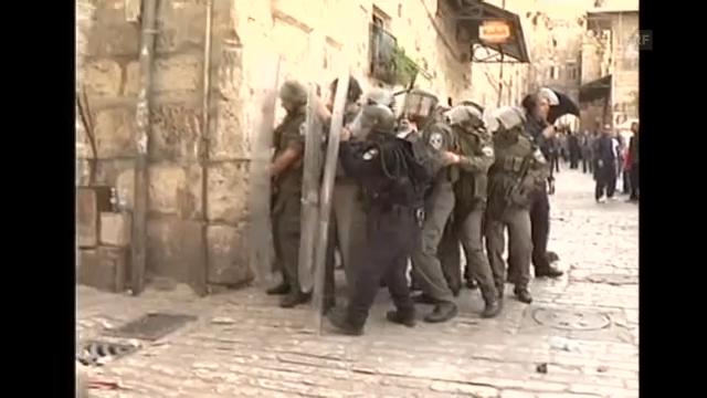 Ausschreitungen in Jerusalem