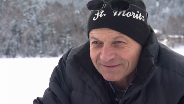 Video «Wie weiss Cristiano Luminati, dass das Eis sicher ist?» abspielen