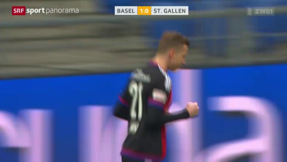 Basel schlägt St. Gallen