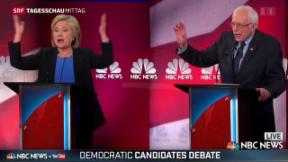 Video «Demokraten-Duell in den USA» abspielen