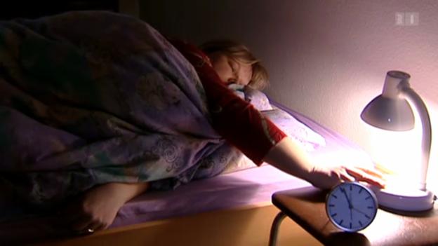 Video «Ständiger Schlafmangel ist ungesund» abspielen