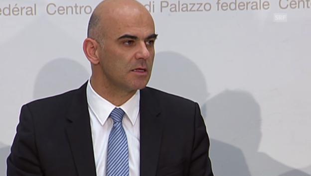 Video «BR Berset: Was der Bundesrat mit der AHV-Reform will» abspielen