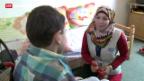 Video «Reportage aus dem Kriegsgebiet in Syrien» abspielen