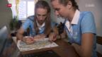 Video «Zwei Schweizer Debütantinnen an der OL-WM» abspielen