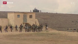 Video «Angriffe auf IS-Stellungen im Nordirak» abspielen