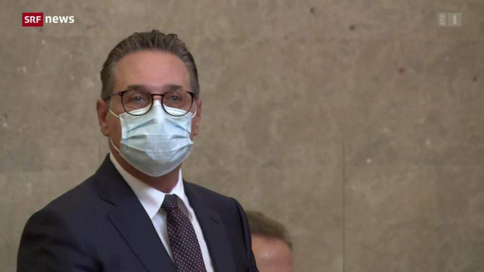 Ex-Vizekanzler Strache wegen Korruption schuldig gesprochen