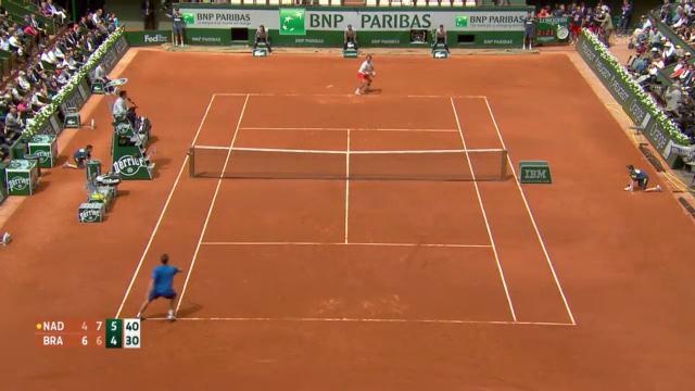 Nadal - Brands: Die Satzbälle