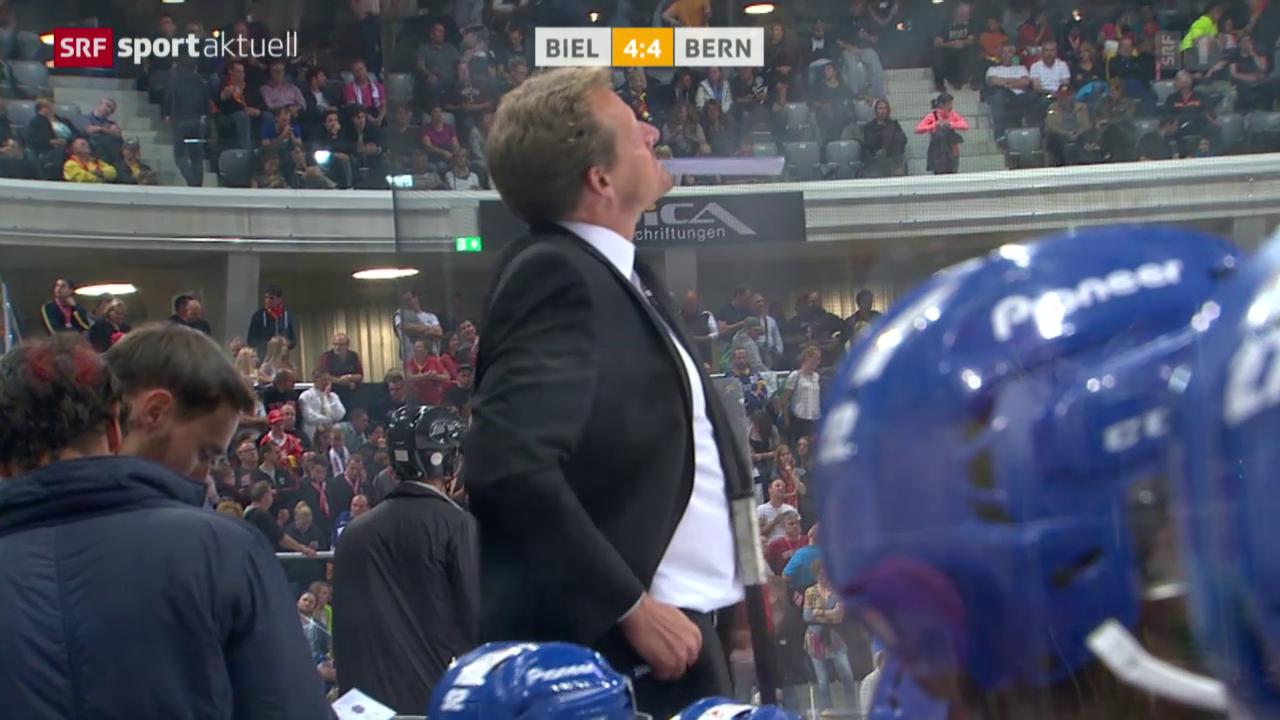 Eishockey: NLA, EHC Biel - SC Bern