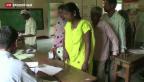 Video «Indiens Demokratie-Übung ist angelaufen» abspielen