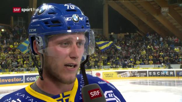 Video «Corvi: «Wir dominierten von der ersten Minute an»» abspielen