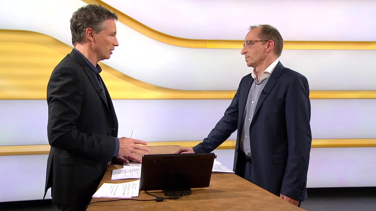 Studiogespräch mit Max Klaus von der Melde- und Analysestelle Informationssicherung Melani