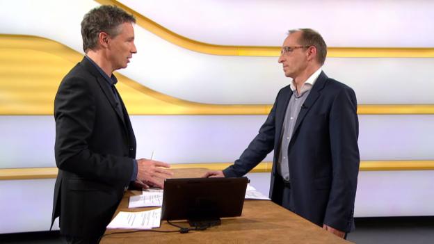 Video «Studiogespräch mit Max Klaus von der Melde- und Analysestelle Informationssicherung Melani» abspielen
