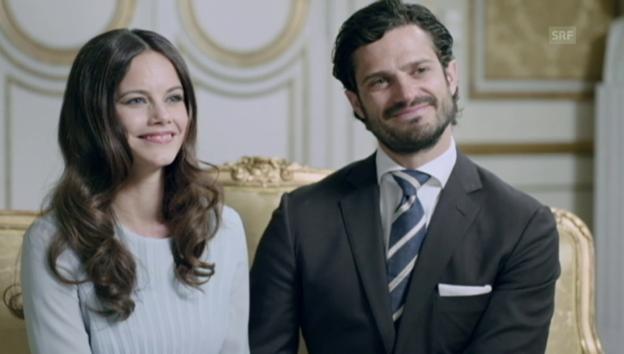 Video «Carl Philip und Sofia Hellqvist» abspielen