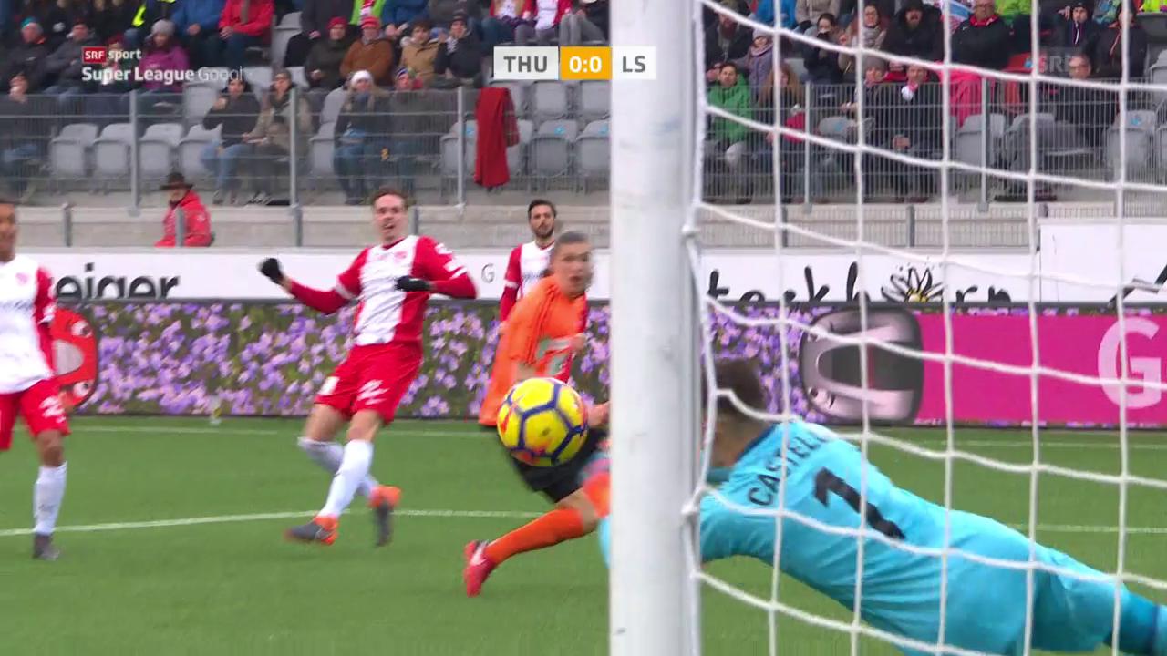 Thun und Lausanne trennen sich 0:0