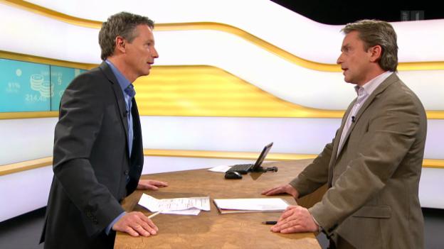 Video «Studiogespräch mit Lukas Perler, Leiter Fachbereich Krisenvorsorge und Tierseuchenbekämpfung BLV» abspielen