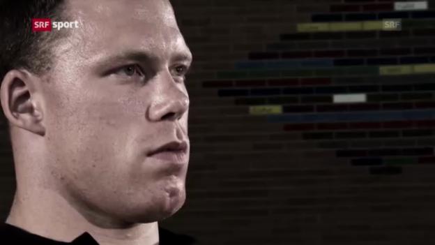 Video «Hypnose mit Matthias Sempach («sportpanorama»)» abspielen