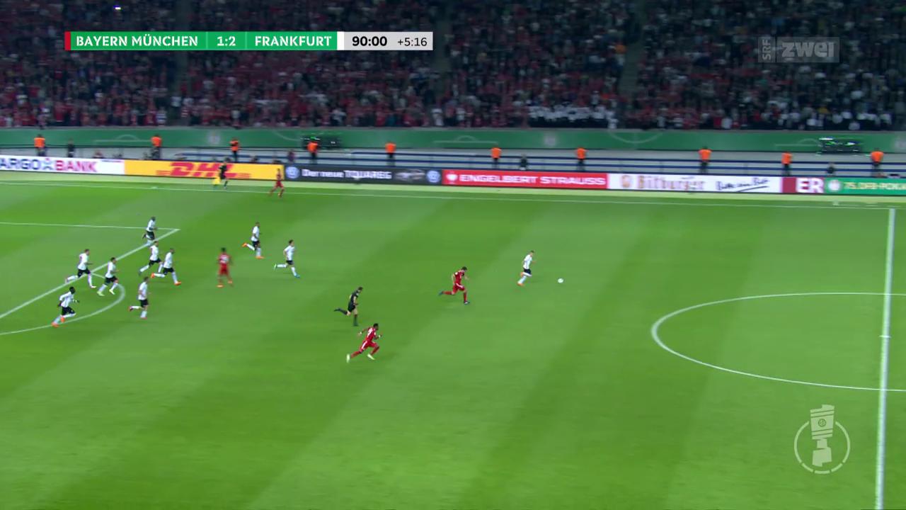 Finalsieg gegen Bayern: Frankfurt gewinnt den DFB-Pokal
