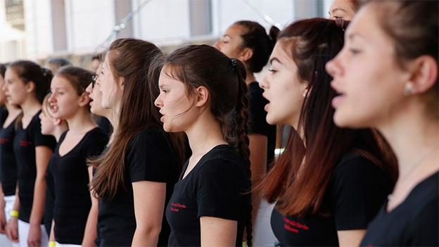 I Cantori della Turrita mit «Intermedio del sol fanari»