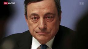 Video «EZB mit drastischen Massnahmen» abspielen