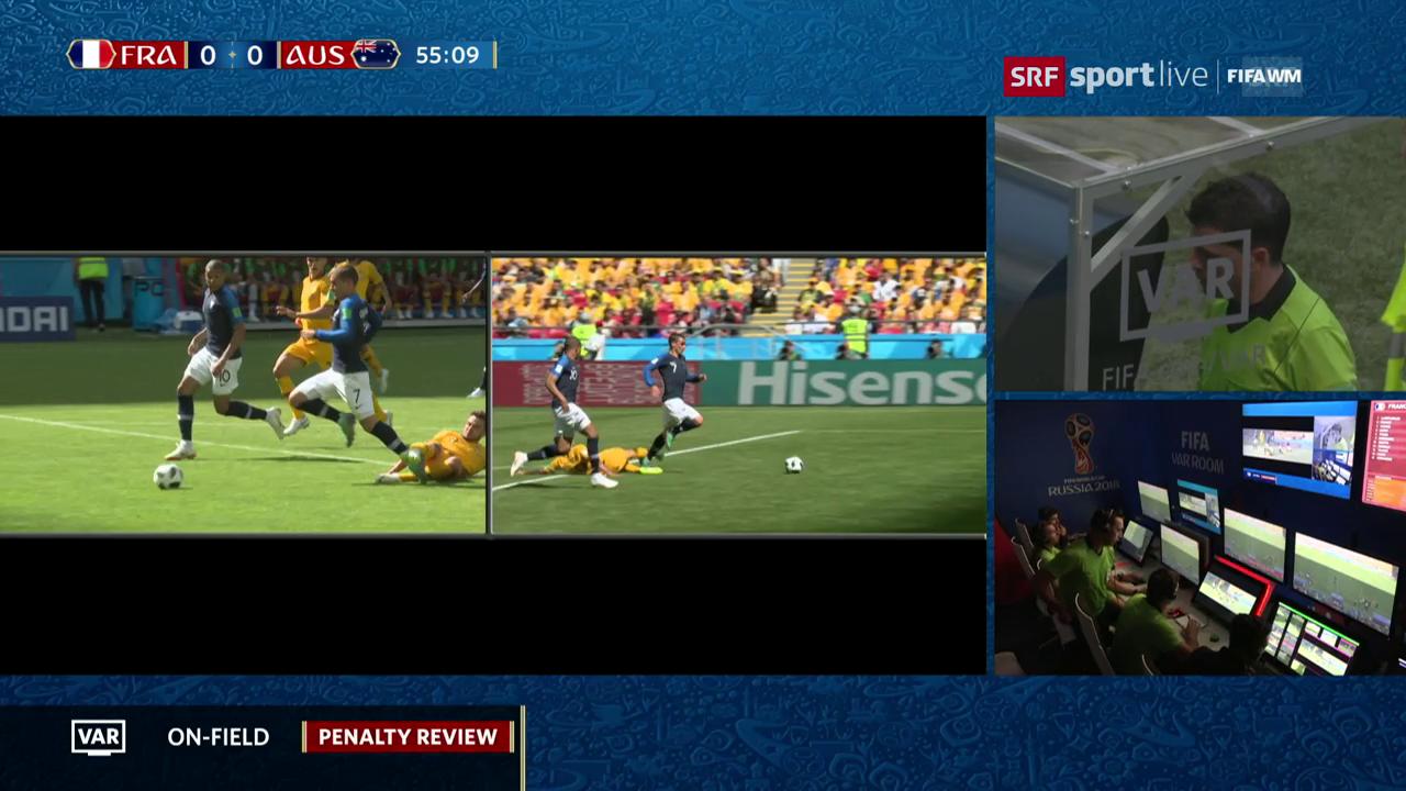 WM-Premiere: Penalty dank Videoschiedsrichter