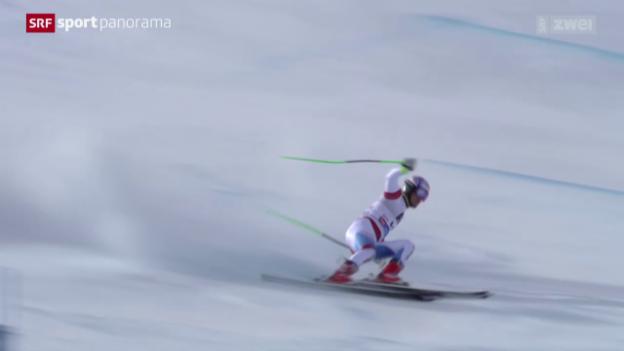 Video «Ski: Riesenslalom Männer in Sölden - die Schweizer» abspielen