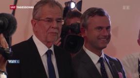 Video «Österreich nach der Bundespräsidentenwahl» abspielen