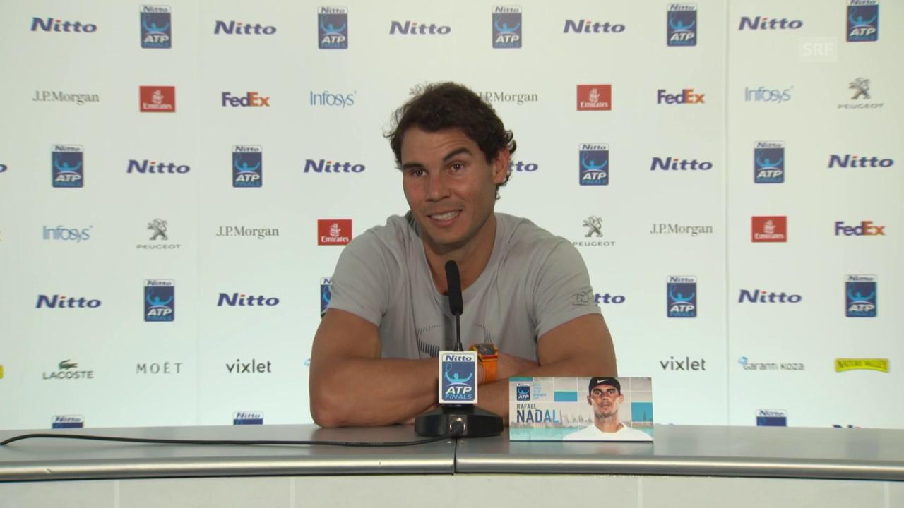 Nadal: «Bin selbstbewusst genug»