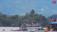 Link öffnet eine Lightbox. Video Tragisches Bootsunglück in Kolumbien abspielen