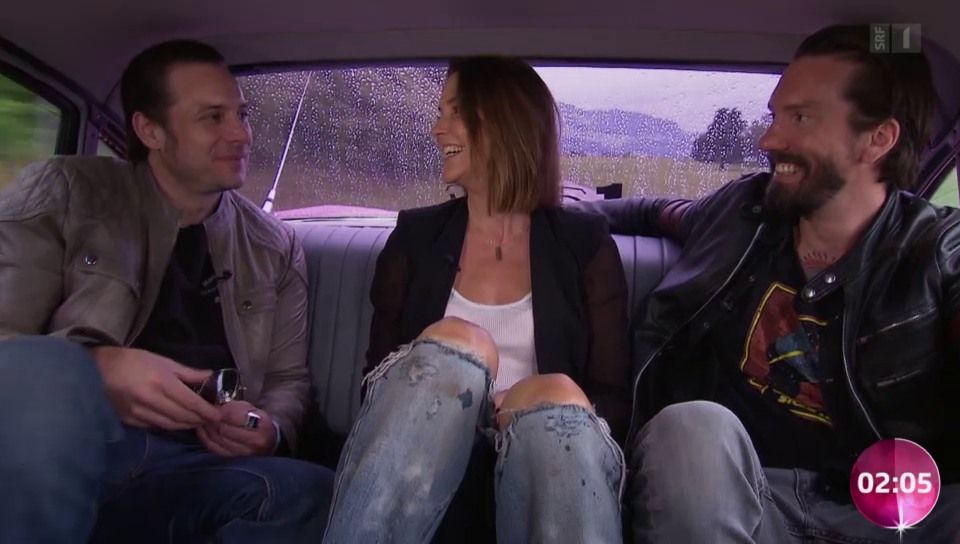 «In der Limo mit...» The BossHoss