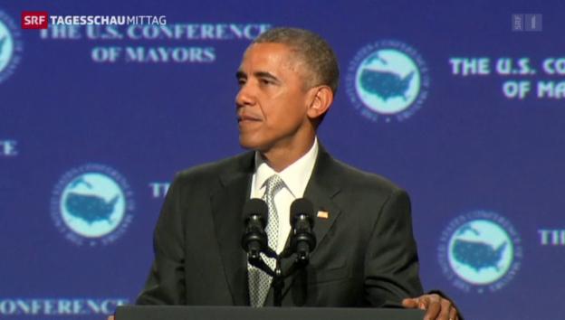Video «Obama will Waffengesetz verschärfen» abspielen