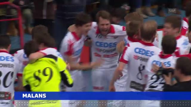 Unihockey: Meistertitel für Malans und Chur («sportaktuell»)