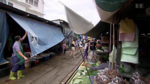 Video «Thailand - Marktfahrer» abspielen