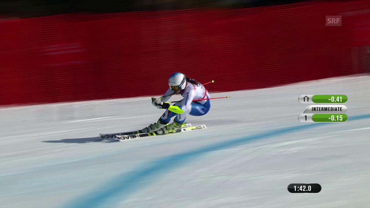 Ski: WM 2015, 2. RS-Lauf von Wendy Holdener