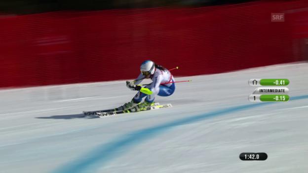 Video «Ski: WM 2015, 2. RS-Lauf von Wendy Holdener» abspielen