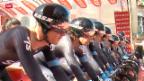 Video «Rad: 2. Etappe Giro d'Italia» abspielen
