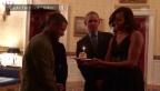 Video «Die Obamas singen für Usher» abspielen