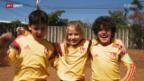 Video «FIFA WM - Preview: Brasilianische Einlaufkinder» abspielen