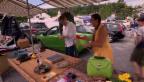 Video «Flohmi Duell: So schlugen sich die Hobbyverkäufer» abspielen