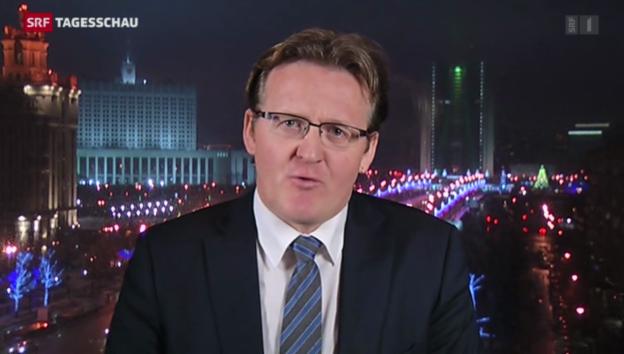 Video «SRF-Korrespondent Christof Franzen zur Medienkonferenz» abspielen