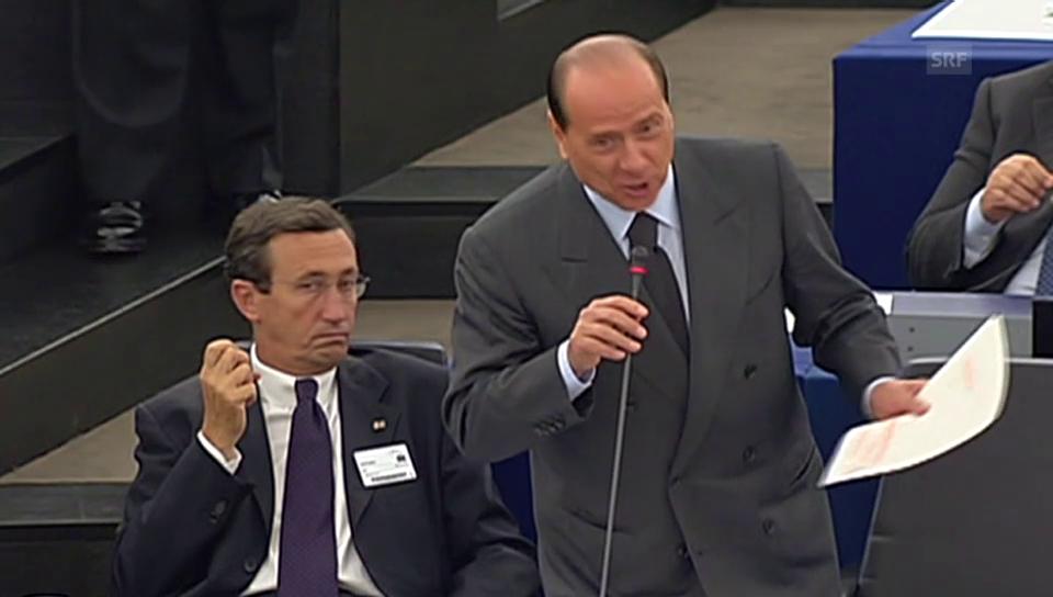 Berlusconi beschimpft Schulz
