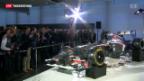 Video «Team Sauber mit neuem Auto» abspielen