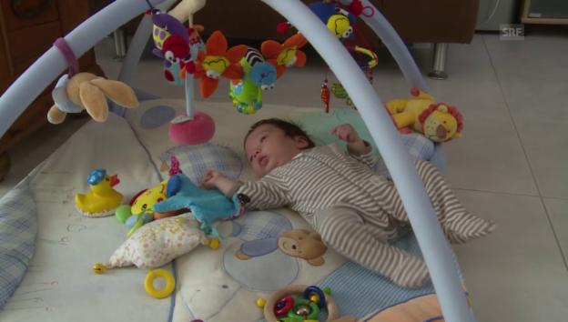 Video «Die Freeski-Stars im Babyglück» abspielen