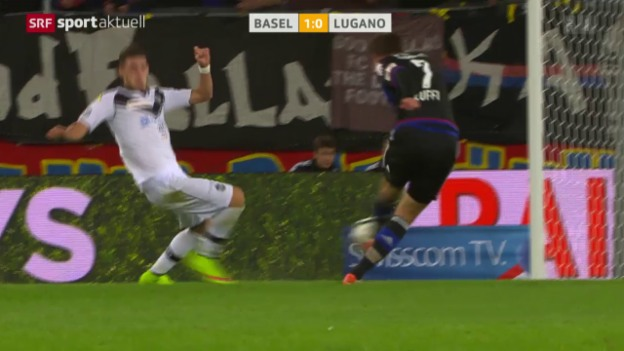 Video «Fussball: Super League, Basel - Lugano» abspielen