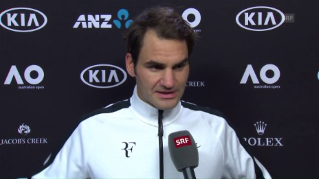 Video «Federer: «Habe nicht erwartet, dass es so einfach geht»» abspielen