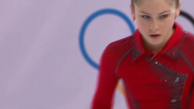 Video «Eiskunstlauf: Teamwettkampf, Kür von Julia Lipnitskaja (sotschi direkt, 9.2.2014)» abspielen