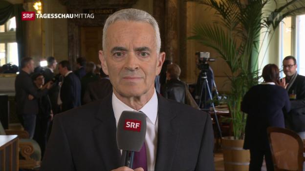 Video «Die Einschätzung von SRF-Bundeshausredaktor Fritz Reimann zur Rentenreform» abspielen