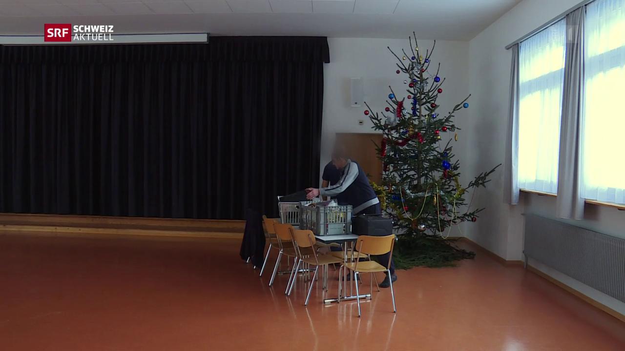 Schwierige Weihnachtszeit im Gefängnis