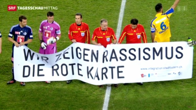 Video «FIFA beschliesst schärfere Strafen bei Rassismus» abspielen