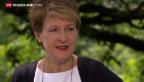 Video «Bundespräsidentin Sommaruga zum 1. August» abspielen