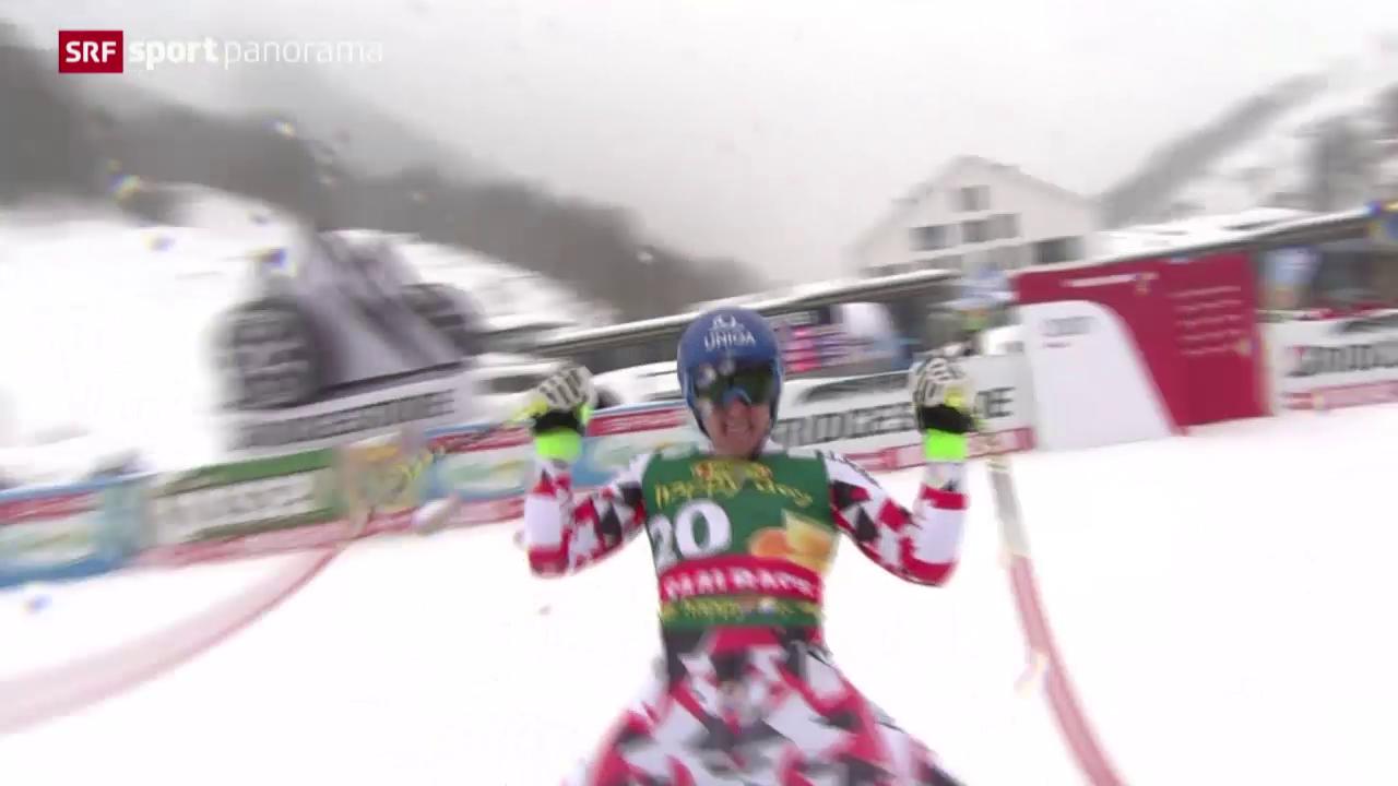 Ski alpin: Super-G der Männer in Saalbach